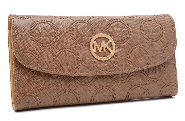 645d3ef7177b Michael Kors Envelope Monogram Wallet Camel | purses | Fashion ...