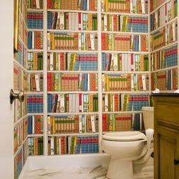 Baños que incluyen libros