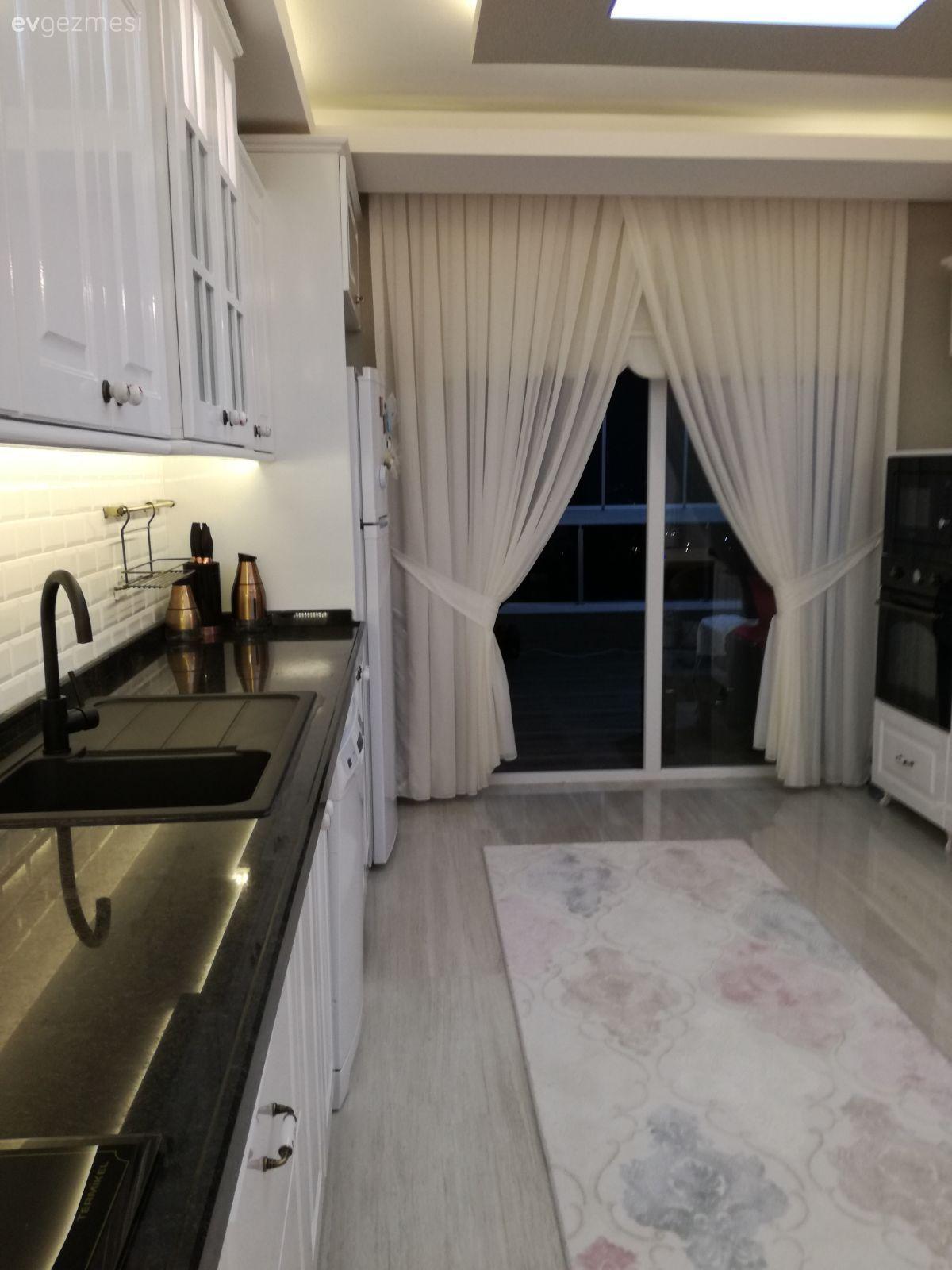 Evimden Birkac Kare Paylasmak Istedim Ev Gezmesi Beyaz Mutfaklar Ev Icin Minimalist Ev
