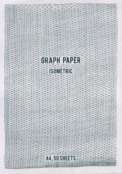 Isometric Graph Paper  Project Textile Workshop