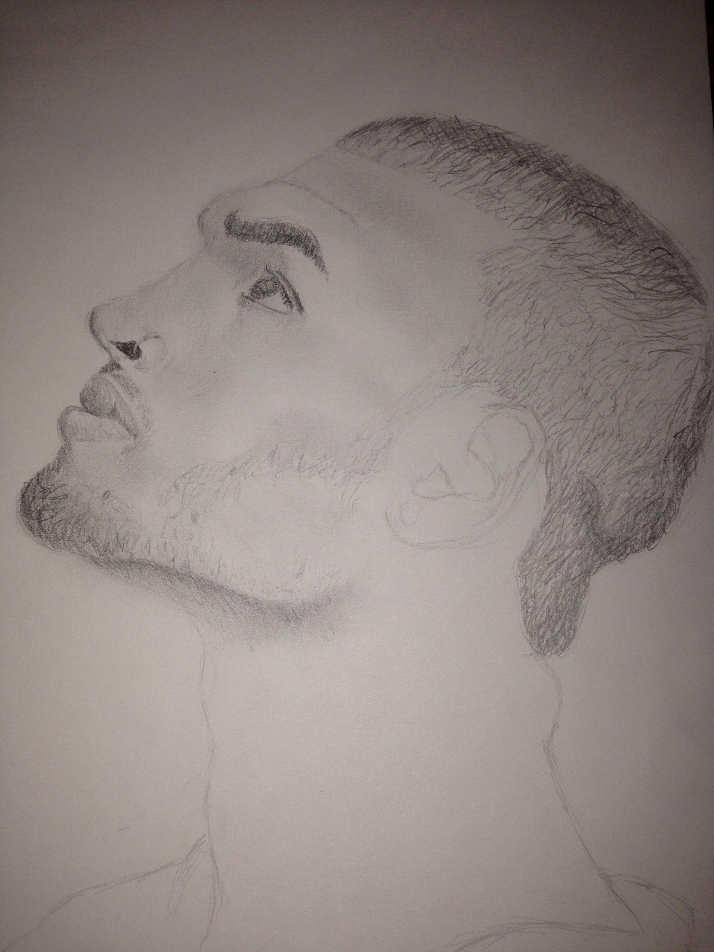 Chris Brown By Davina Monet