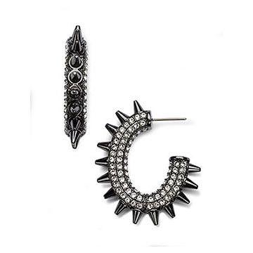 d712f9d73 Atelier Swarovski Core Collection, Kalix Hoop Pierced Earrings $299 ...