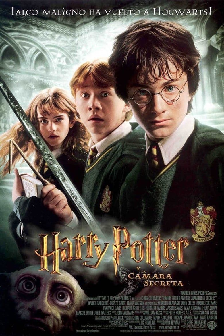 Harry Potter And The Chamber Of Secrets Chris Columbus 2002 Harry Potter Movie Posters Harry Potter Movies Chamber Of Secrets