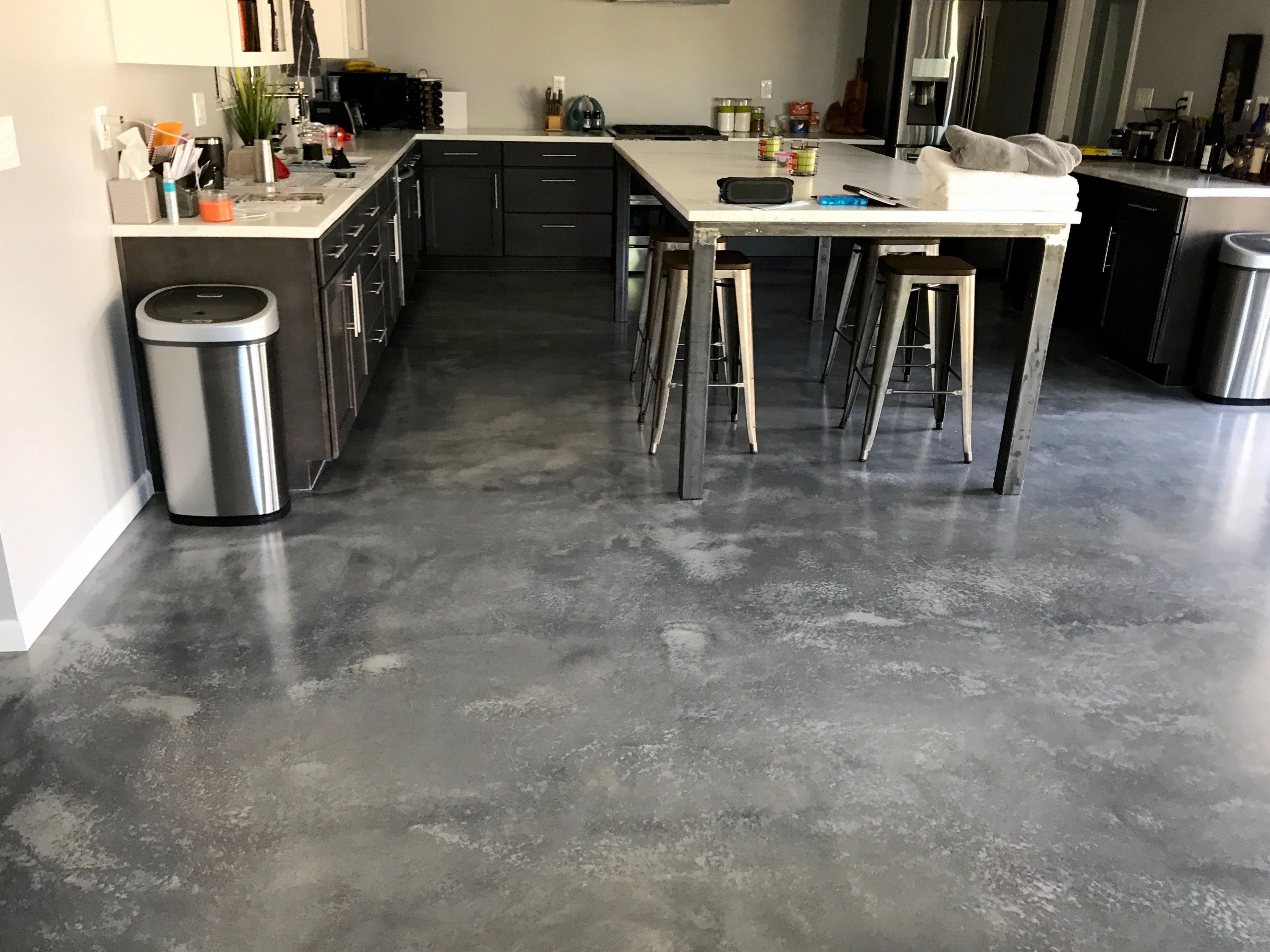 Countertops And Floors Done By Elastocrete And A Few Teams In Phoenix