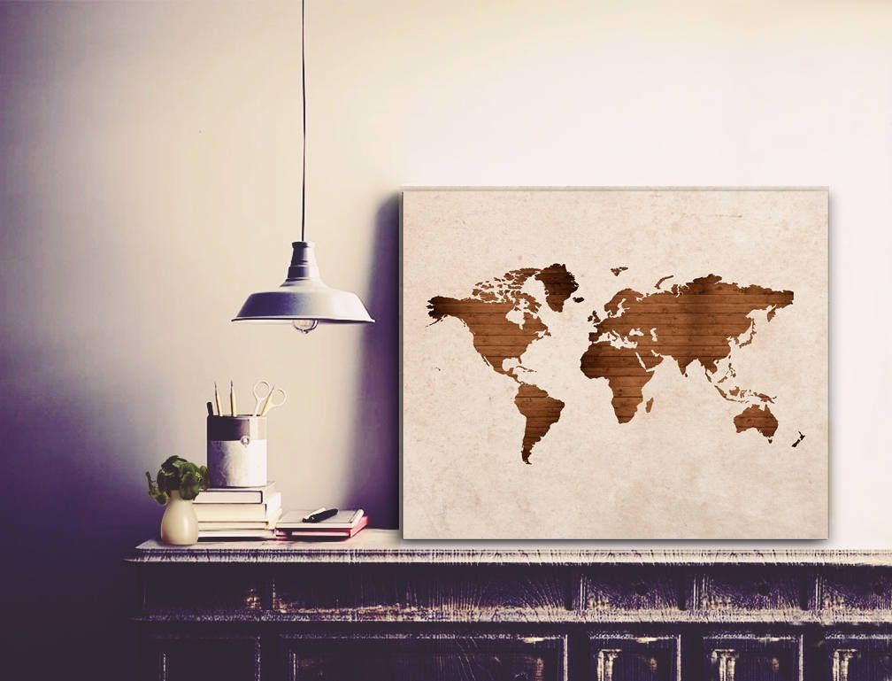 World map world map wall art world map canvas large world map world map world map wall art world map canvas large world map vintage world map world map made of wood cotton canvas gallery wraps gumiabroncs Choice Image