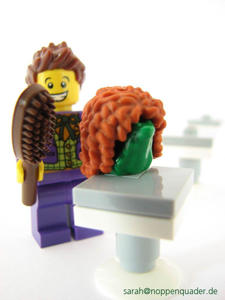 Wo Der Frosch Die Locken Hat Lego Minifigs Scenery Pinterest