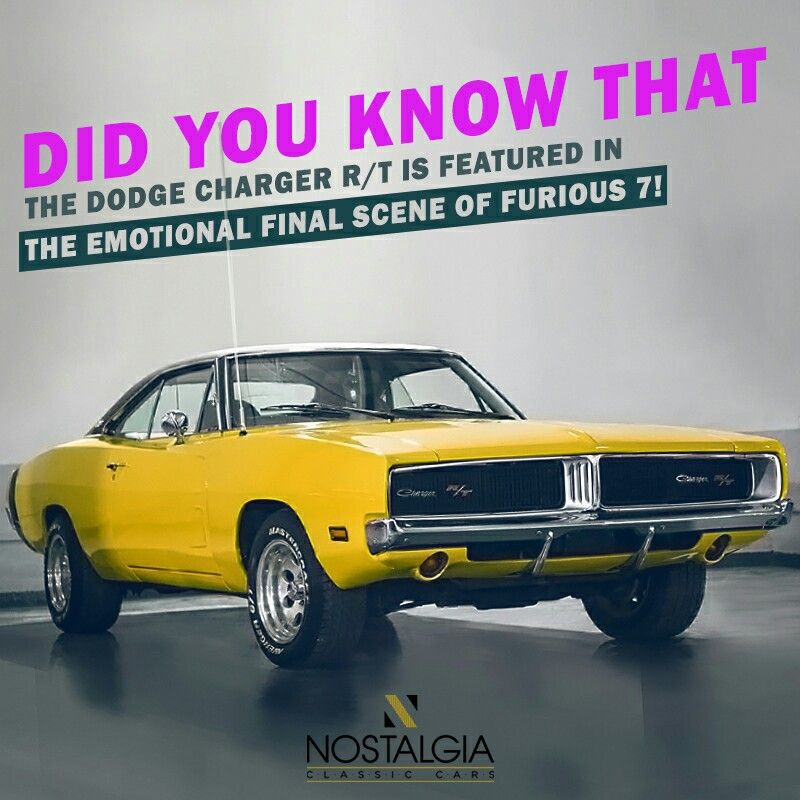 The Dodge Charger R/T is one of the most iconic muscle cars ever ...