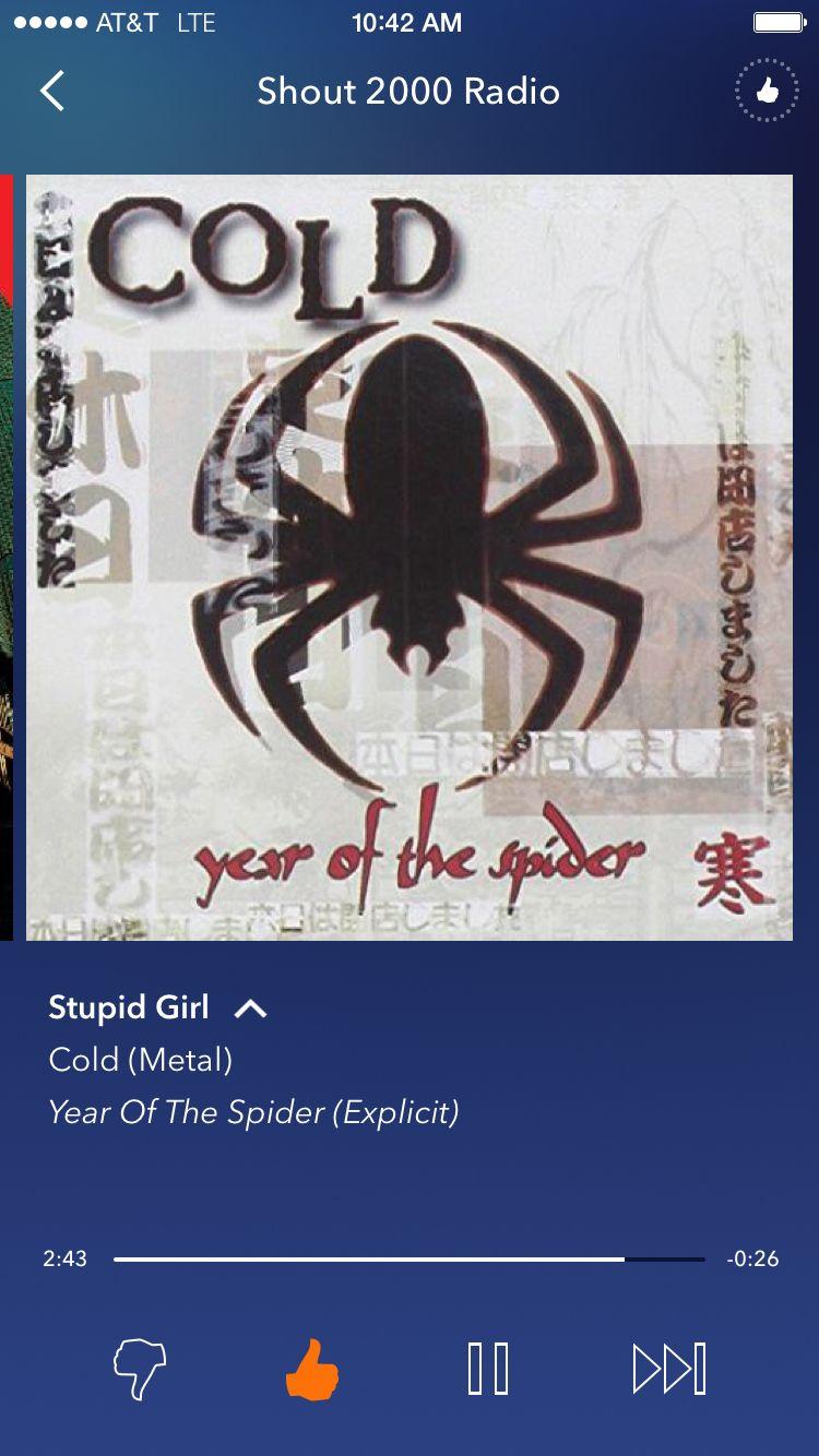 Stupid Girl Cold Stupid Girl Stupid Cold