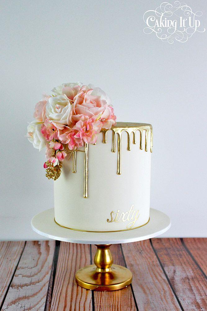 Amazing 30 Beautiful Wedding Cakes The Best From Pinterest 60Th Birthday Personalised Birthday Cards Akebfashionlily Jamesorg