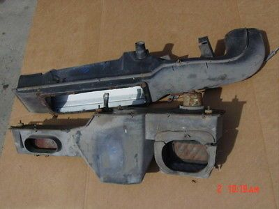 78-86 jeep cj heater box | $100 | used because new not available  rebuild  with new parts, paint gloss black