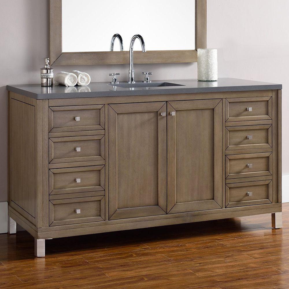 Best Chicago 60 Single Bathroom Vanity Luxury Bathroom 640 x 480