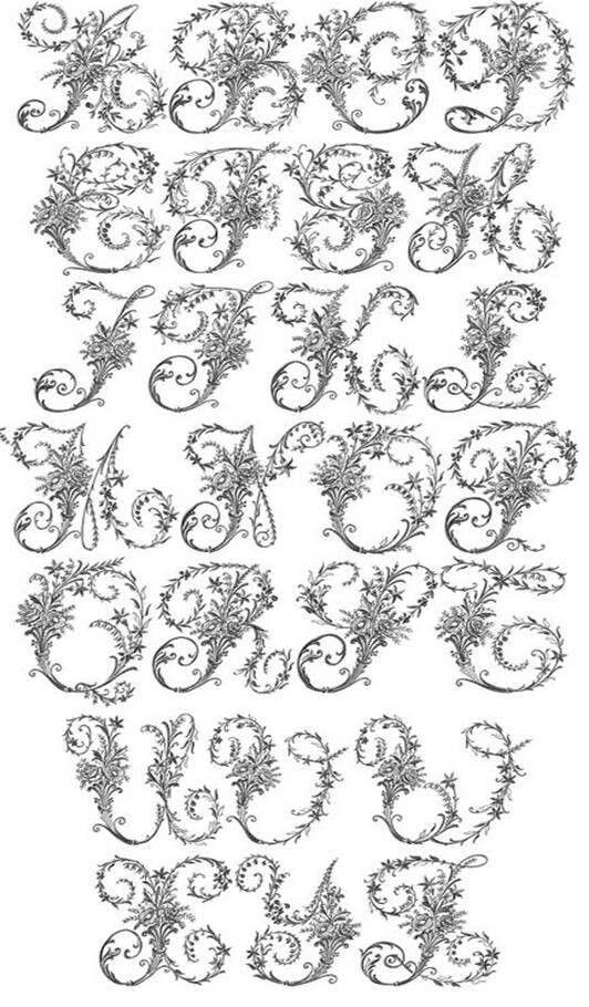 Pin de Gloria Escarate en bordados | Pinterest | Bordado, Alfabeto ...