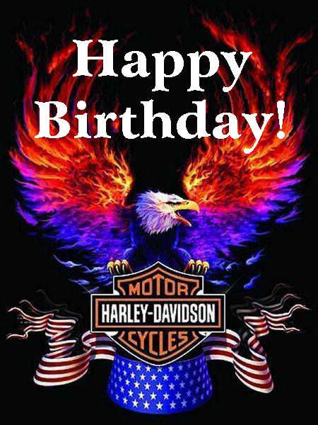 Happy Birthday Harley Davidson Eagle | Harley Davidson & Motorcycles