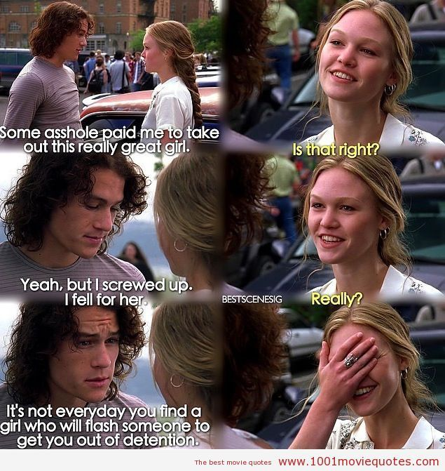 10 Things I Hate About You Quotes Google Search Best Movie