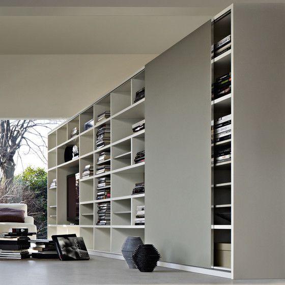 Parete attrezzata soggiorno moderno _ in legno - 505 by Nicola ...