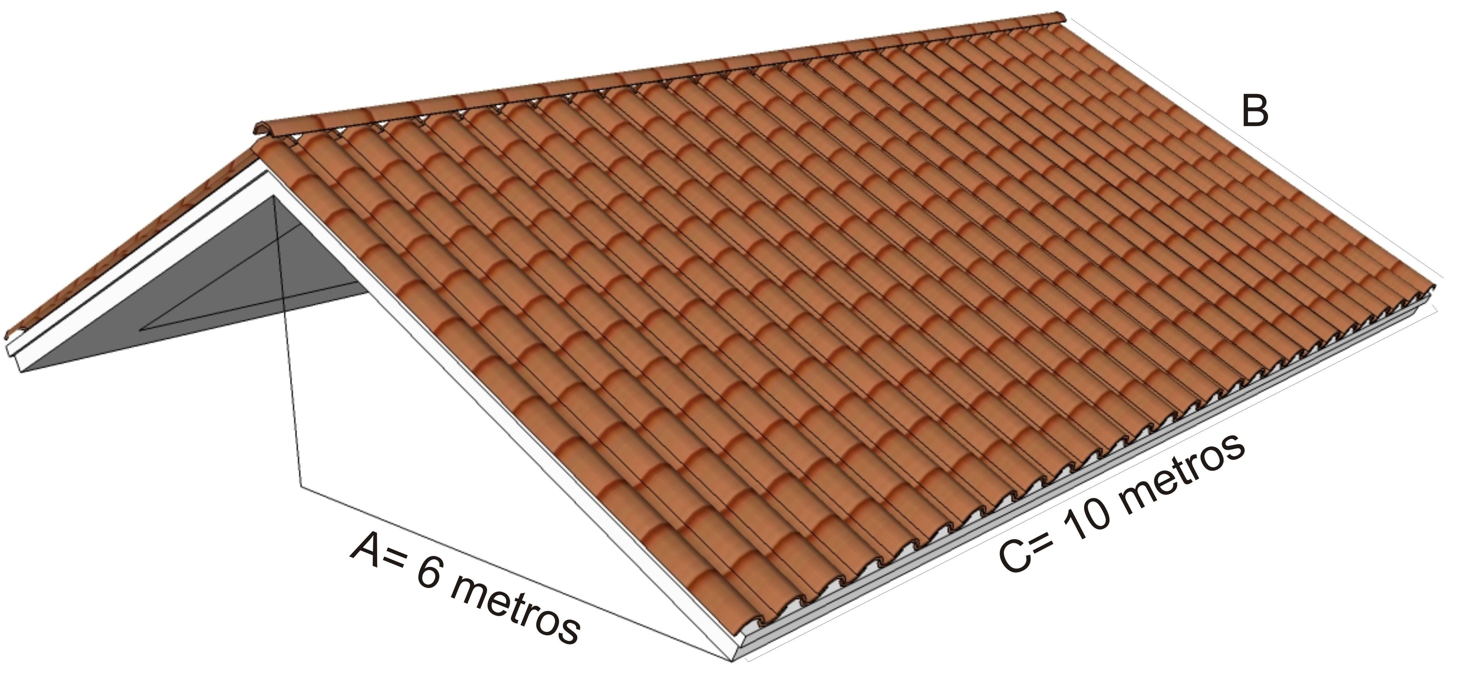 Muitas vezes Como calcular quantidade de telhas necesárias | MADEIRAMENTO E  NS61