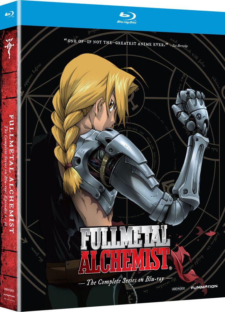 Fullmetal Alchemist Complete Series Bluray Fullmetal