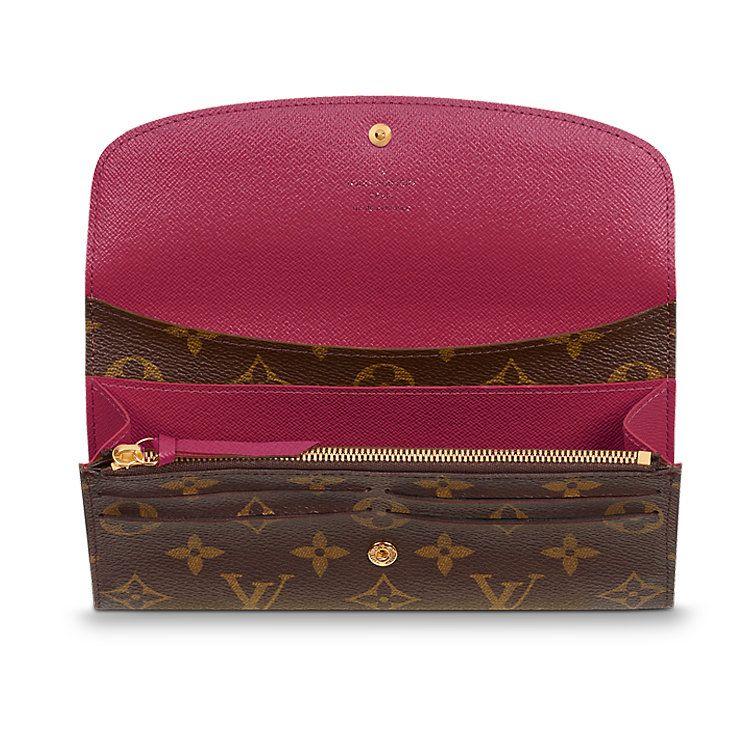 c026f013db2c0 LOUIS VUITTON - Emilie Wallet (LG) MONOGRAM Small Leather Goods