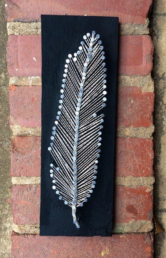 String Art Nail Thread Art Ostova