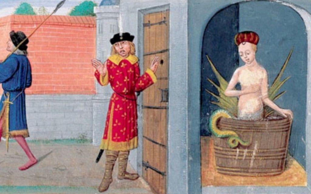 """Résultat de recherche d'images pour """"mélusine dans son bain"""""""