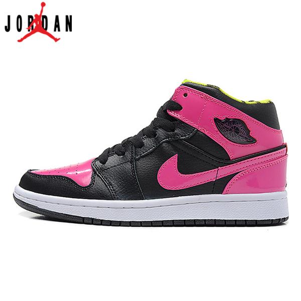 364771-061 Air Jordan 1 Retro Womens Phat Black Peach Kelly Shoes ... dd62f6586c3e