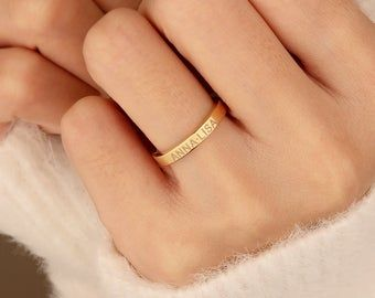 Photo of Inspirational Ring – Stacking Rings – Personalized Dainty Jewelry – Personalized Rings – Still Lasting – Silver Ring