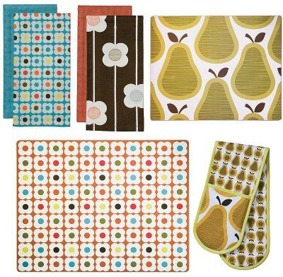 Orla Kiely for Target: Tea Towels and Placemats