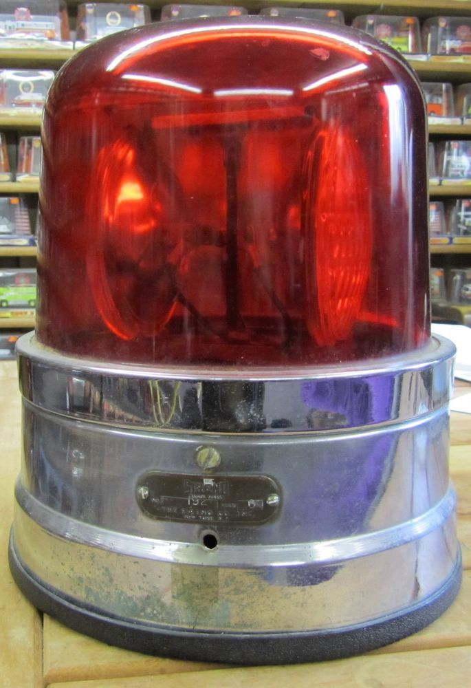 Sireno Fire Truck Emergency Light