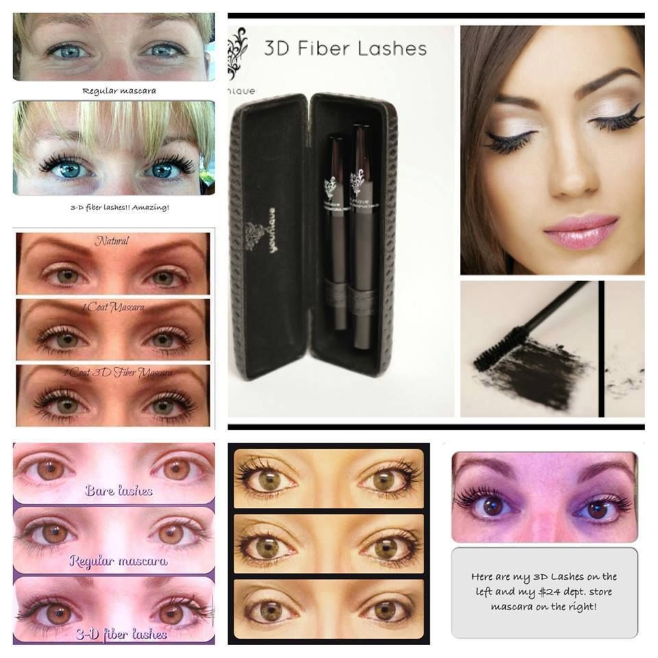3D Fiber lash mascara! Natural green tea fibers and deep rich ...