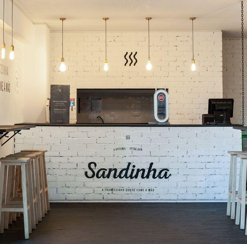 Rustic Sandwich Shop Branding Restaurant Design Coffee Shop Bar Cafe Design