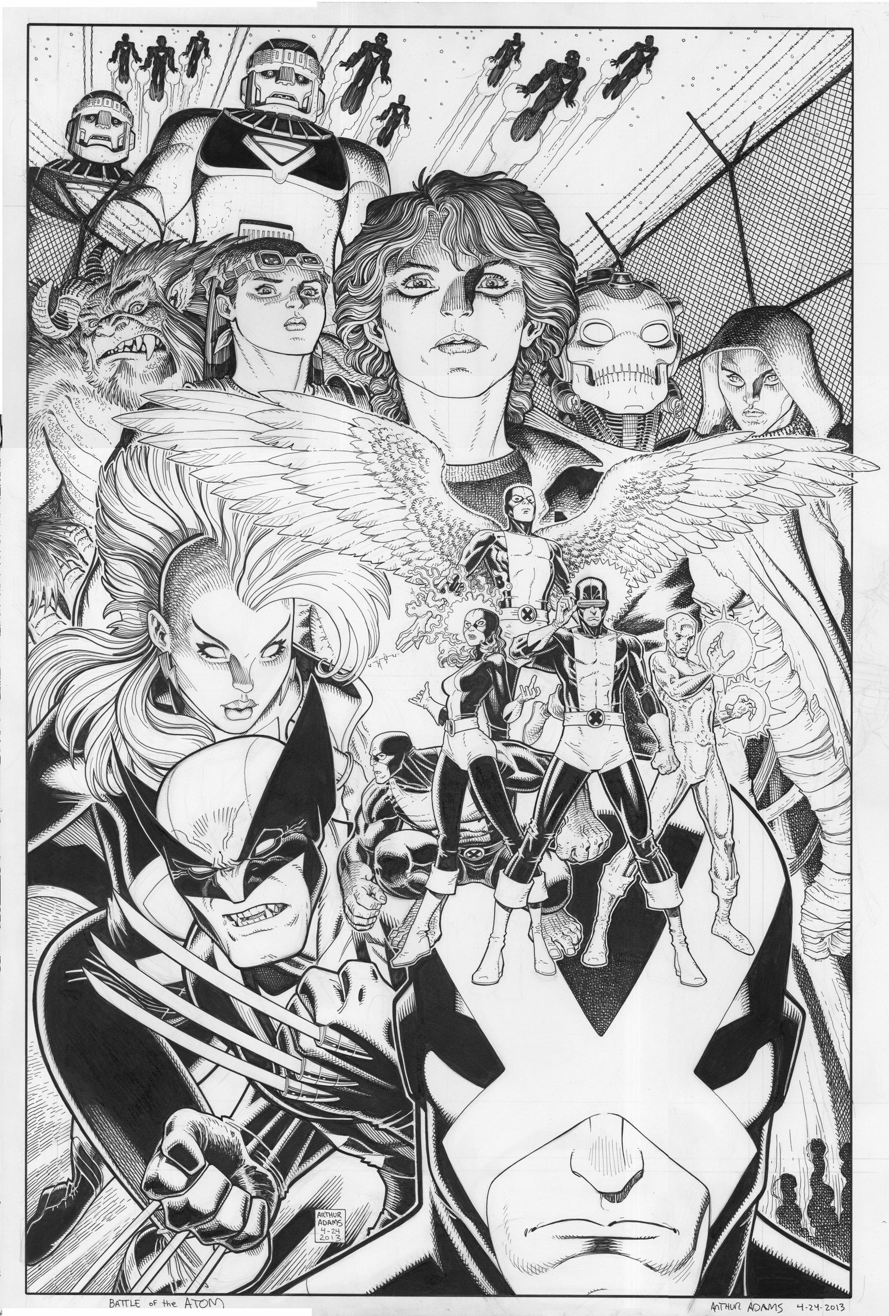 Art Adams For Art Adams Sake X Men Comic Art Art Terror Art