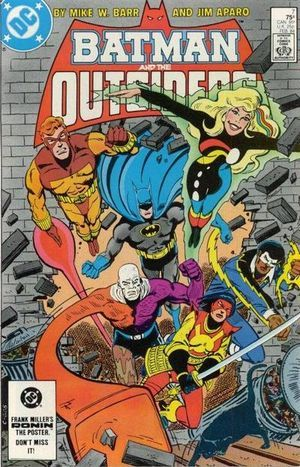 Batman And The Outsiders Vol 1 7 Dc Comic Books Comic Book Covers Comics