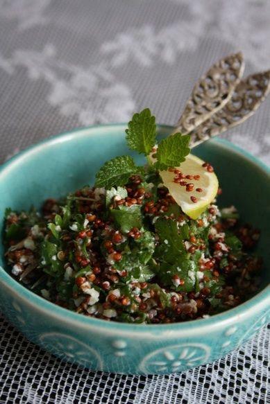 quinoa chimicurri by Kyra de Vreeze #recipe