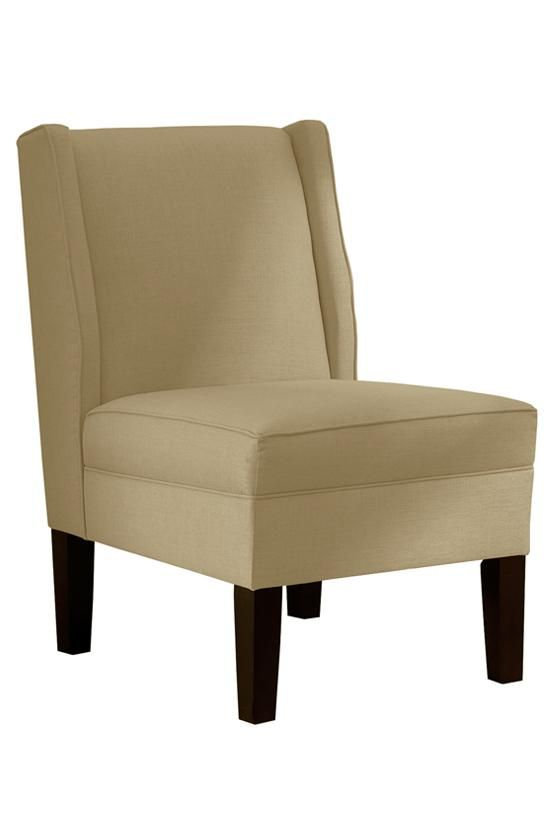 Armless Wingback Chair   Accent Chairs   Living Room   Furniture |  HomeDecorators.com