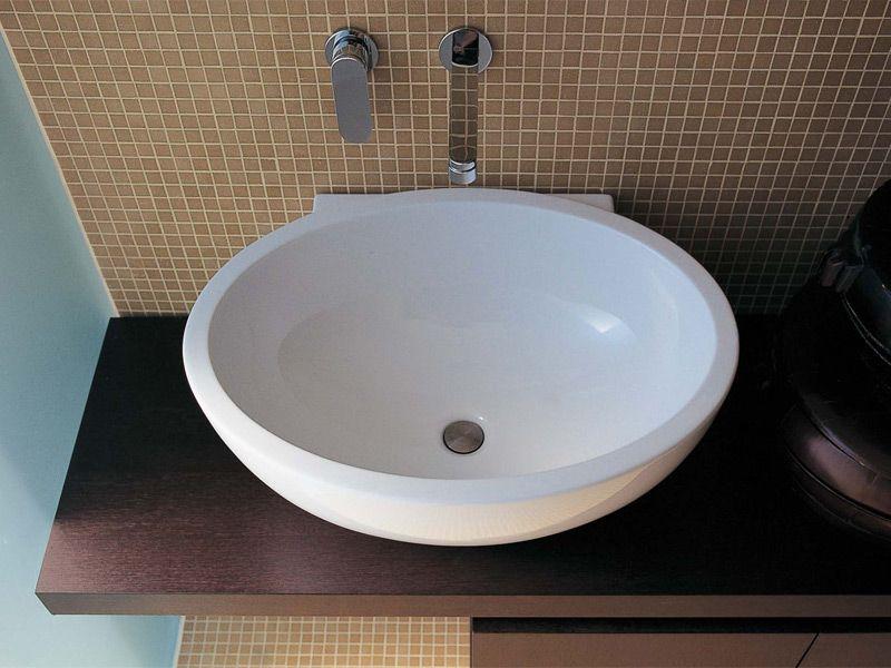 Countertop ceramic washbasin DIP - CERAMICA FLAMINIA