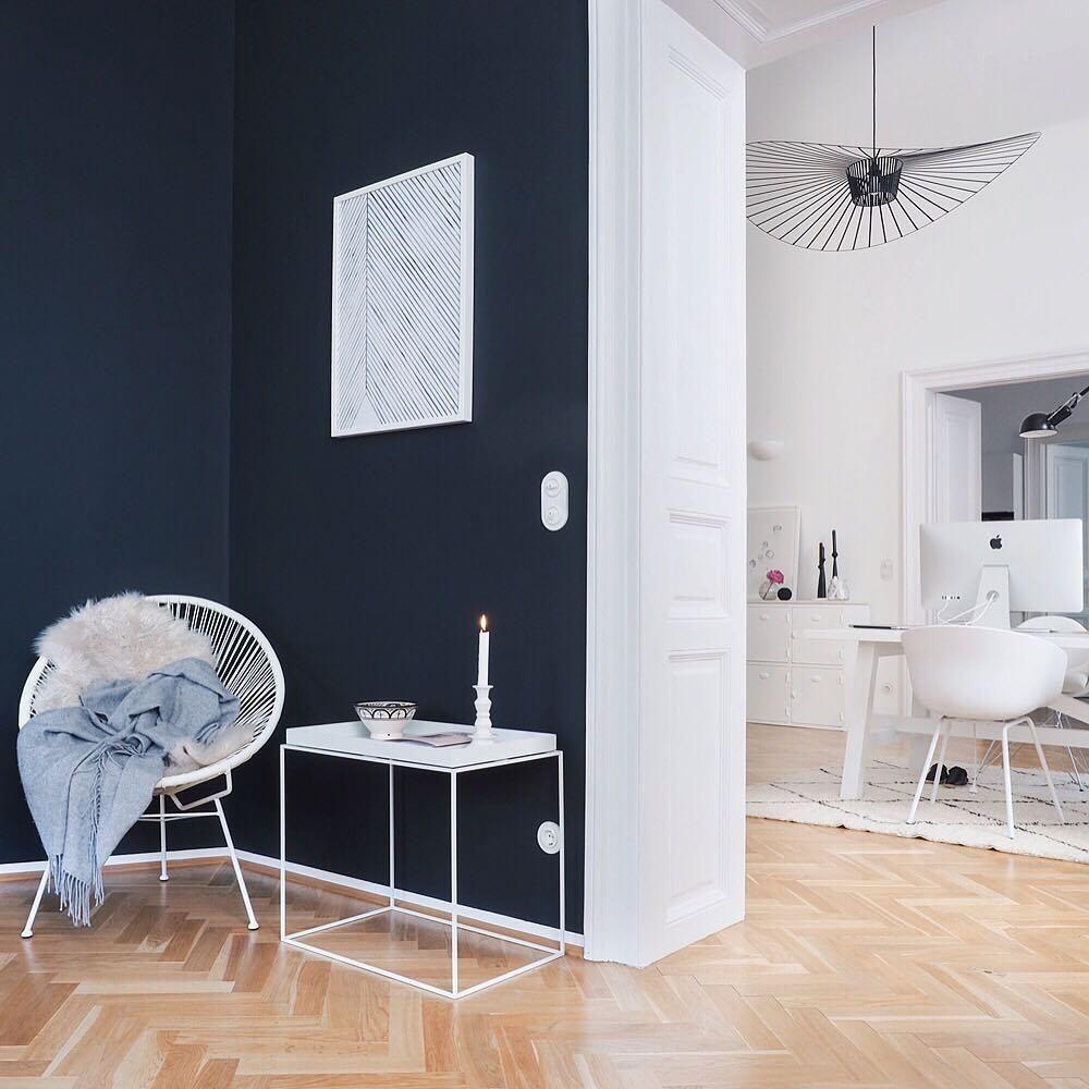 Pin von westwing home living deutschland auf trends we love interior pinterest gegensatz - Wandfarbe arbeitszimmer ...