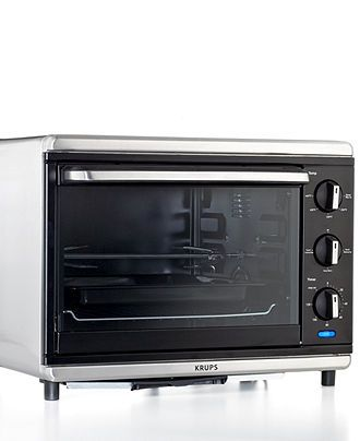 Krups Convection Oven With Rotisserie Definitive Series Stainless Steel Toaster Ovens Kitchen Macys