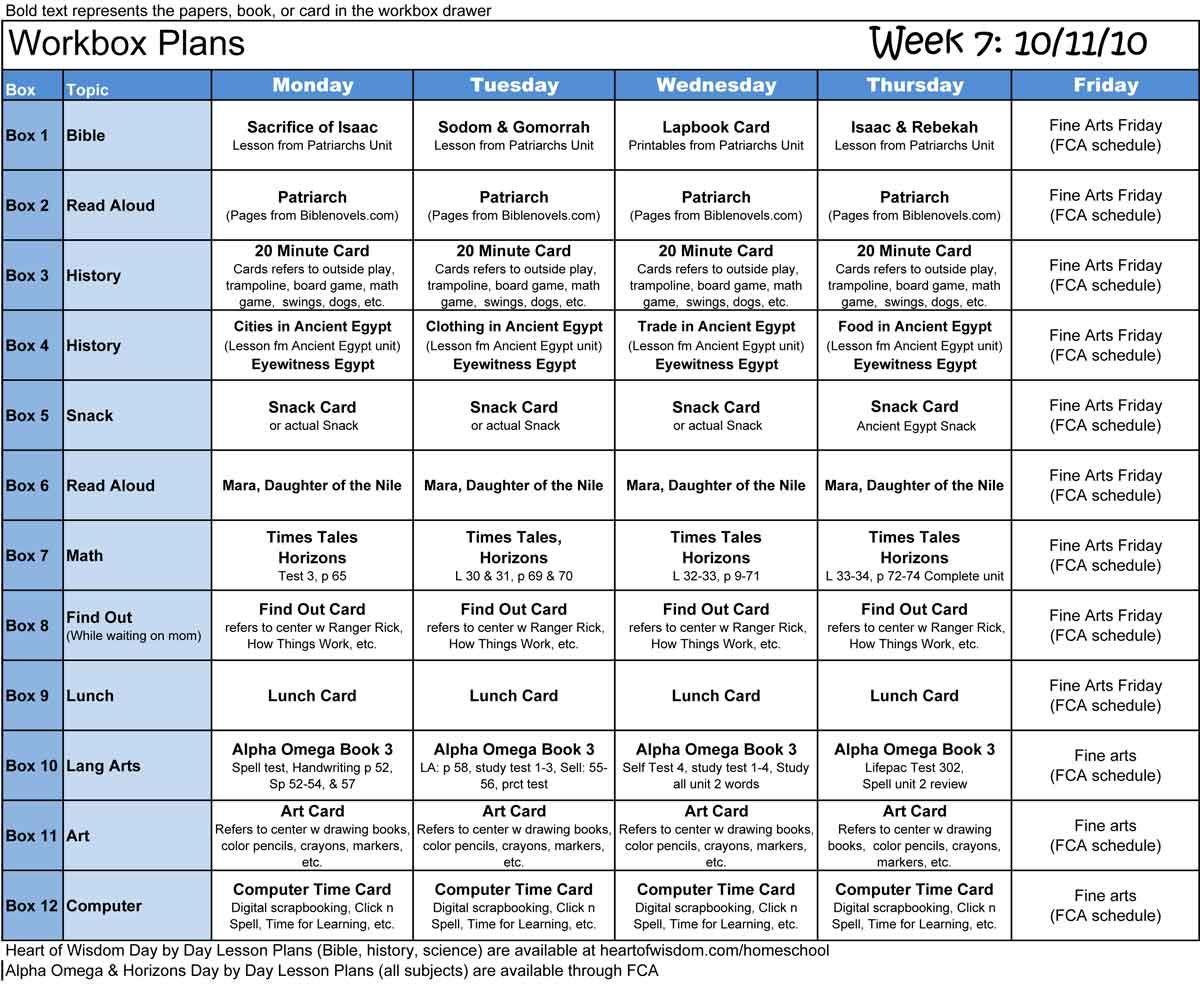 Homeschool Workbox Lapbook Organizing And Planning Robin Sampson S Blog