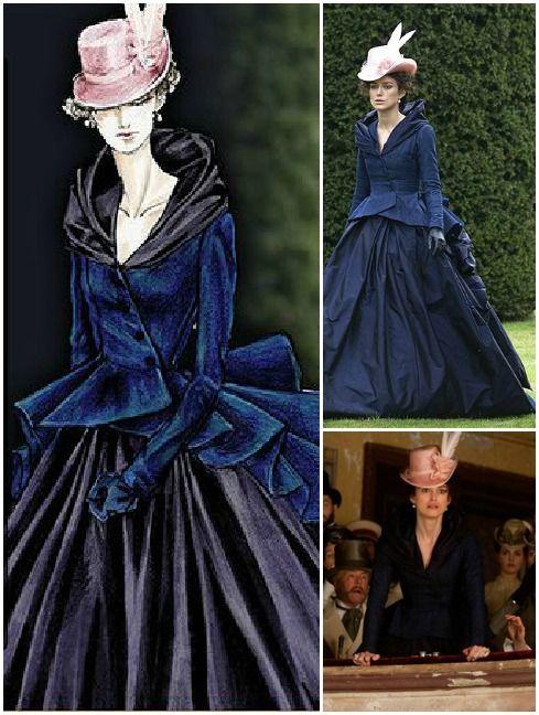 Keira Style Addicted Keira S Movie Costume Anna Karenina Beautiful Costumes Hollywood Costume Movie Costumes