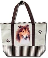Collie Tote Bags