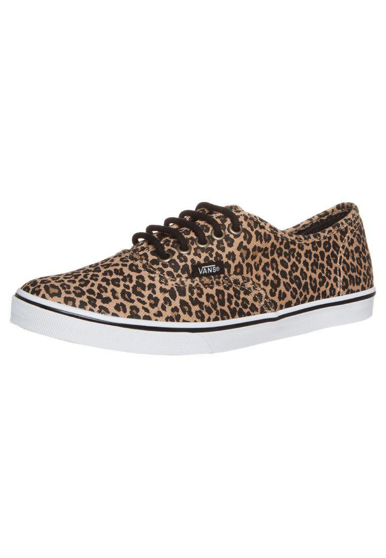 Vans AUTHENTIC LO PRO Sneaker leopard herringbone