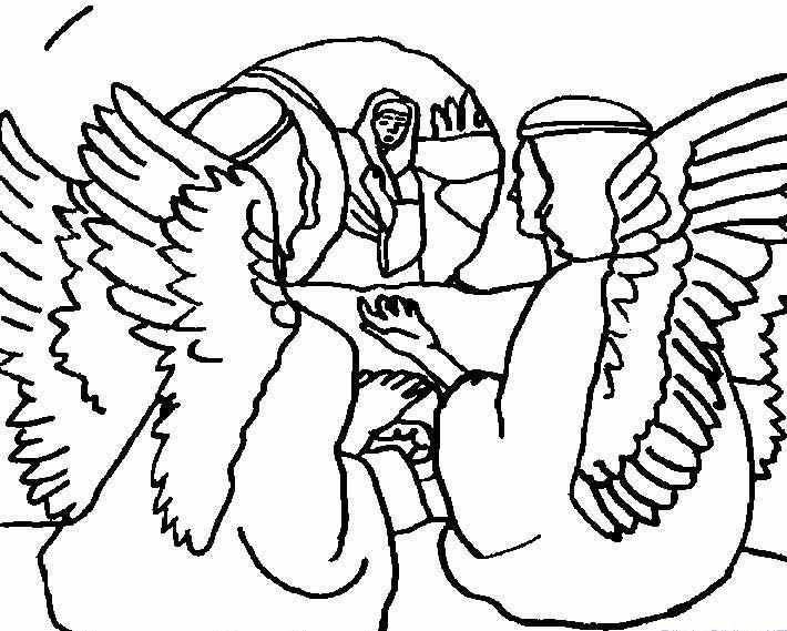 Myrrhbearers Il Sepolcro Vuoto Da Colorare Liturgical Art