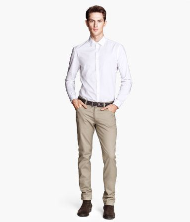 H&M Twill Pants Slim fit $20 | Eric & Ani's, Pants 2 Jeans..means ...
