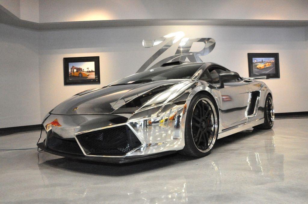 Chrome 1,500 HP Lamborghini Gallardo Matador By ZR Auto