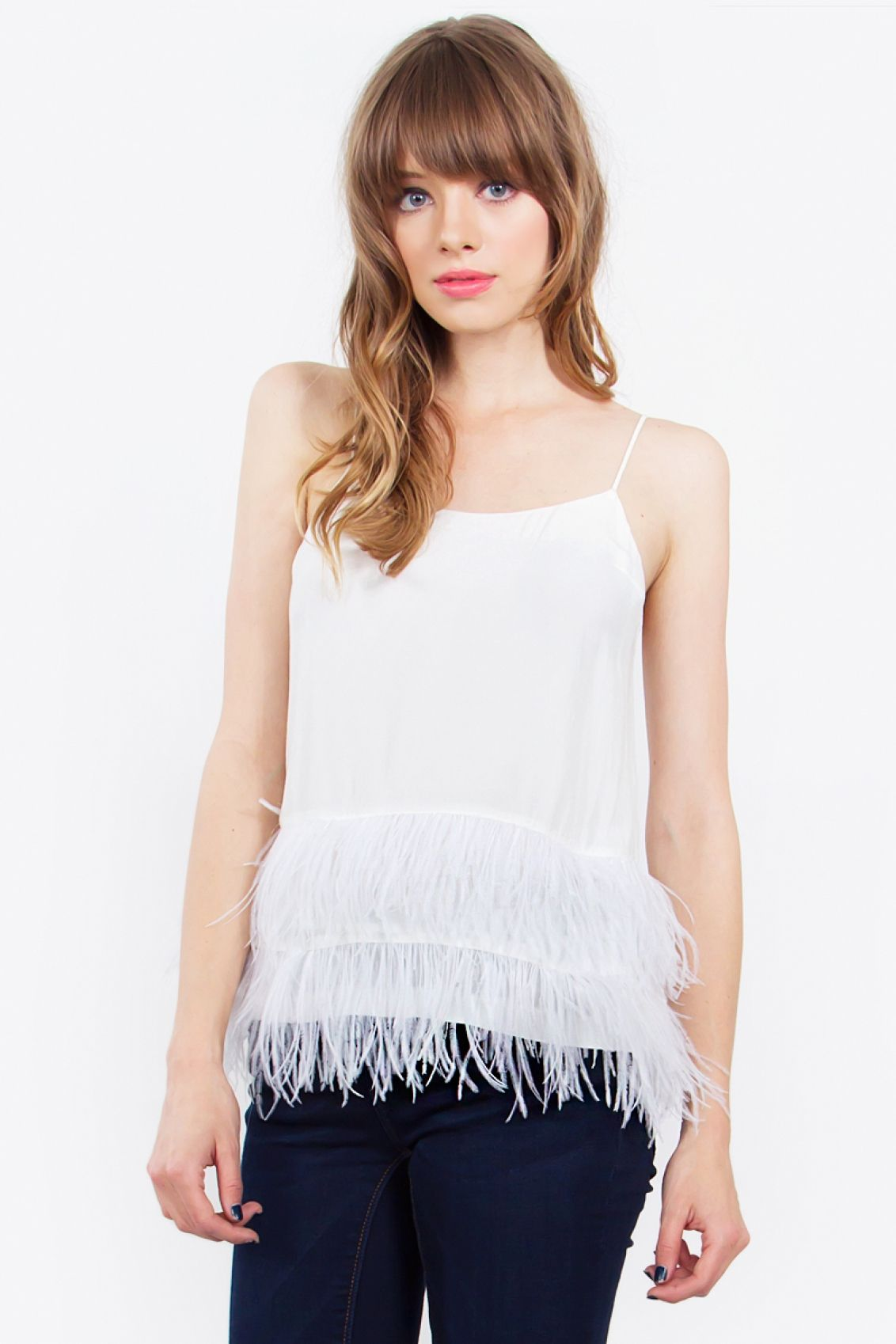 Feathers of Nature Top