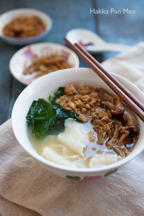 マレーシアの家庭料理 パンミー 板麺 のレシピ 手打ちでモチモチ食感 Macaroni レシピ 料理 家庭料理