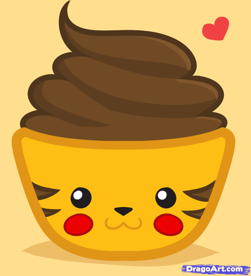 Uncategorized How To Draw Cupcake drawings of pikachu how to draw a cupcake drawling cupcake