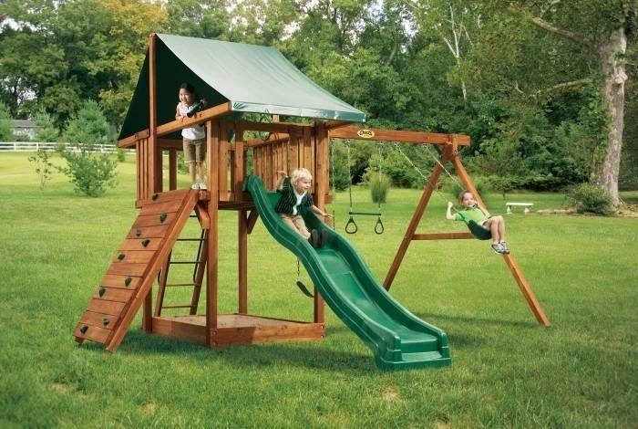 Cedar Swing Sets