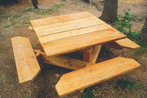 Construire Une Table De Jardin Plan Pour Fabriquer En Bois ...