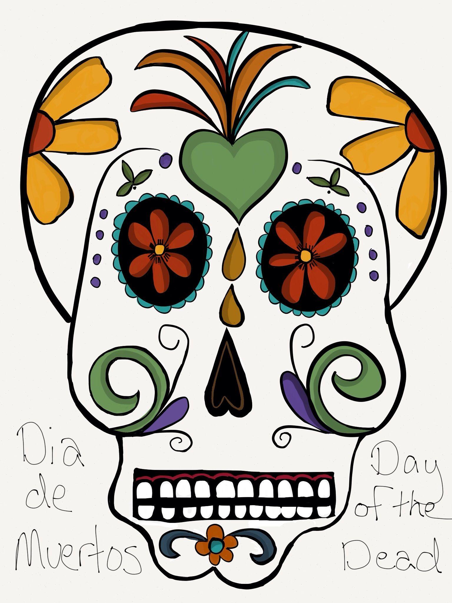 Dia de Muertos #madewithpaper